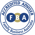 Family Business Australia Accredited Adviser logo